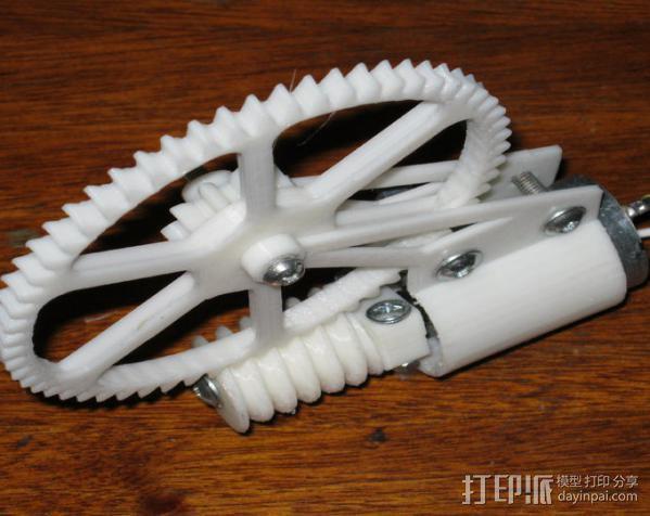 齿轮减速器  3D模型  图2