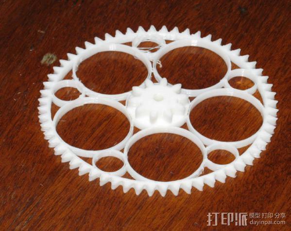 齿轮减速器  3D模型  图3