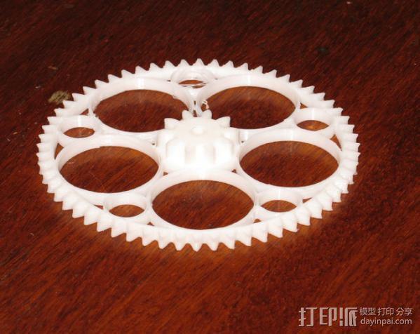 齿轮减速器  3D模型  图4