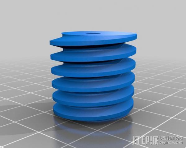 齿轮减速器  3D模型  图7