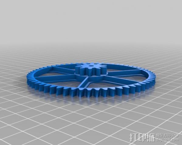 齿轮减速器  3D模型  图9