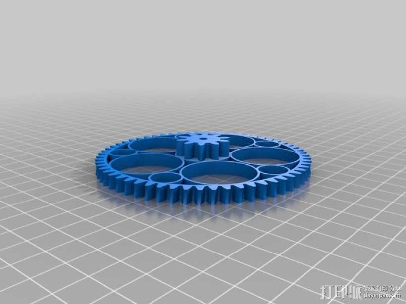 齿轮减速器  3D模型  图10