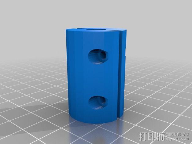 定制化耦合器 3D模型  图1
