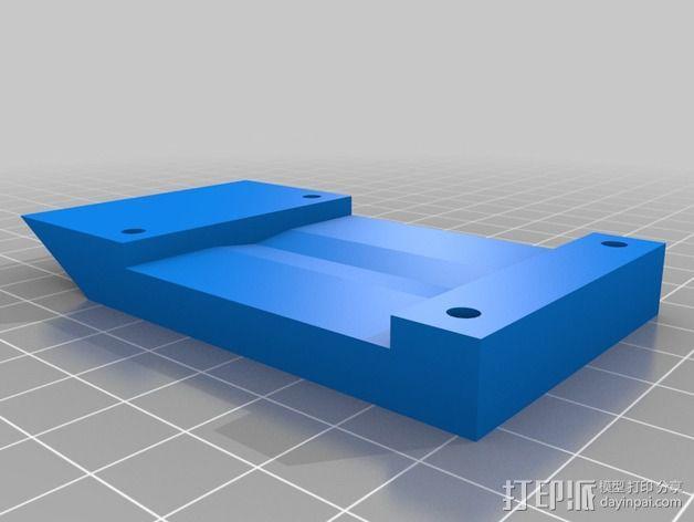 莱泽曼折叠刀保护套 3D模型  图3