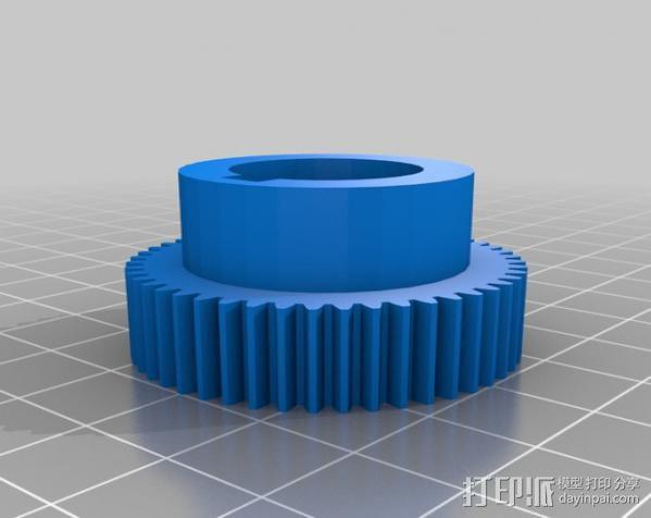 CVA车床变速齿轮组 3D模型  图10
