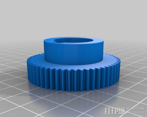 CVA车床变速齿轮组 3D模型  图12