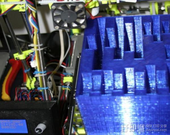 CVA车床变速齿轮组 3D模型  图26