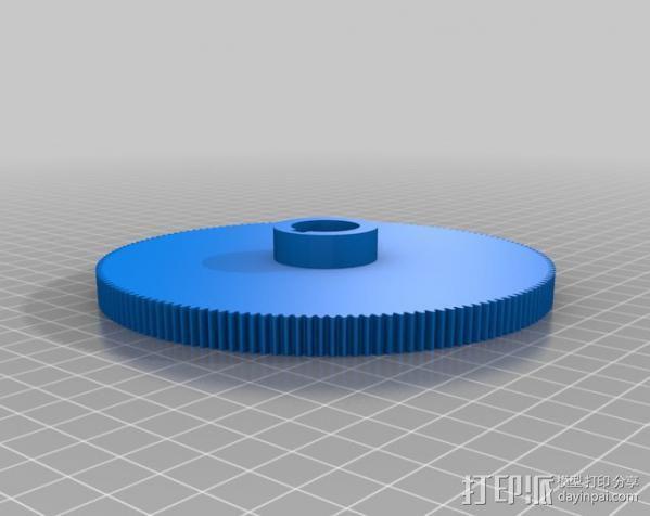 CVA车床变速齿轮组 3D模型  图24