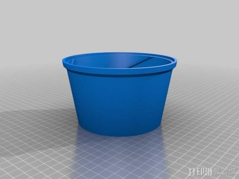 旋风式除尘器 3D模型  图2