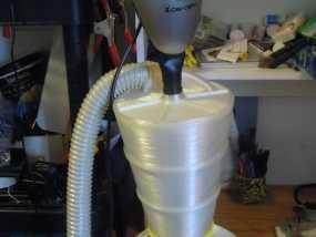 旋风式除尘器 3D模型