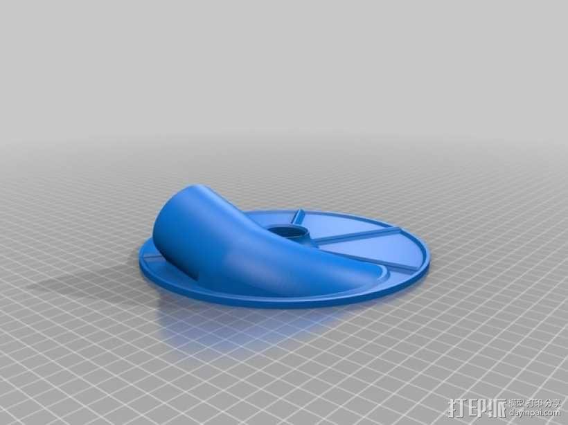 旋风式除尘器 3D模型  图5