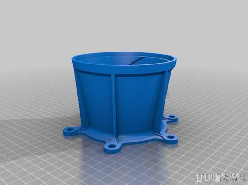 旋风式除尘器 3D模型  图6