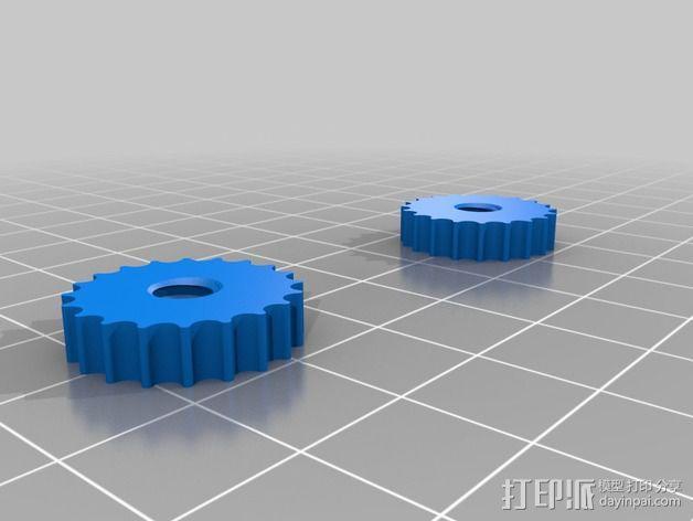 实验室用移液器 3D模型  图4