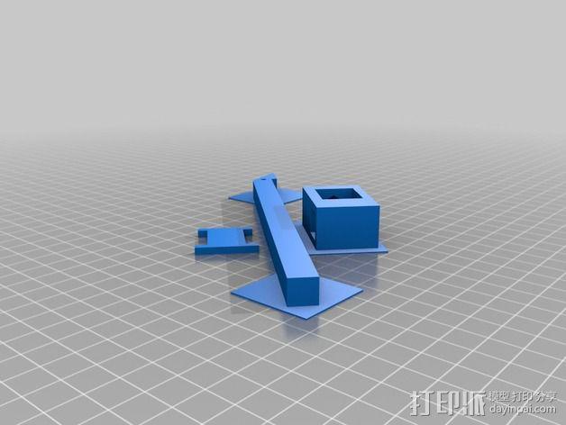 木匠用圆规 3D模型  图4