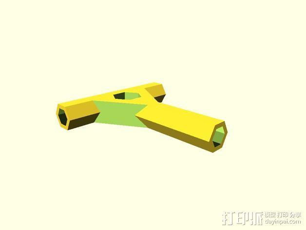 参数化多功能螺丝刀 3D模型  图2