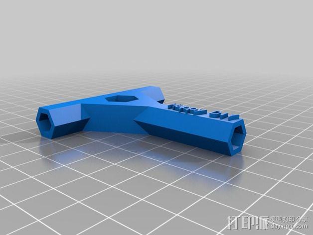 参数化多功能螺丝刀 3D模型  图3