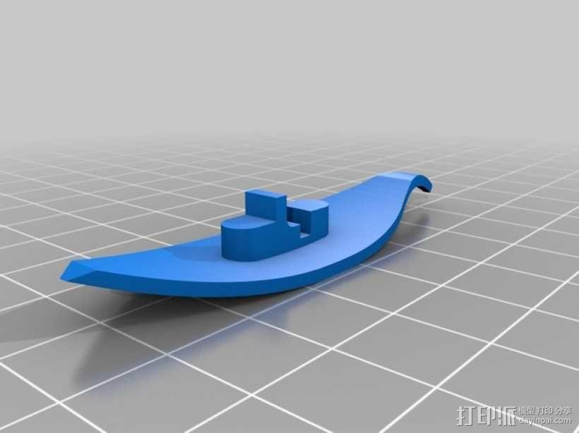 编织 梭子 3D模型  图3