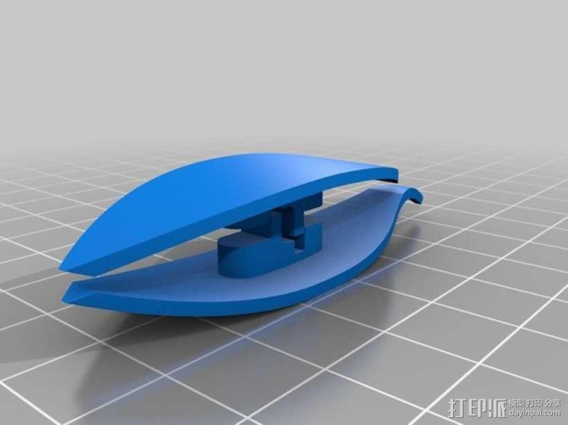 编织 梭子 3D模型  图4