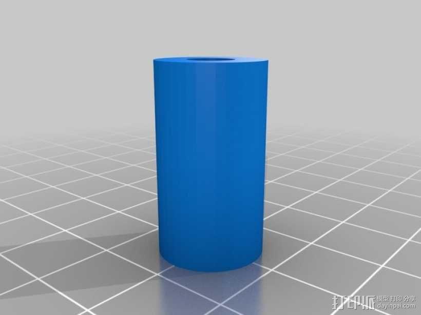 迷你止回阀 3D模型  图4