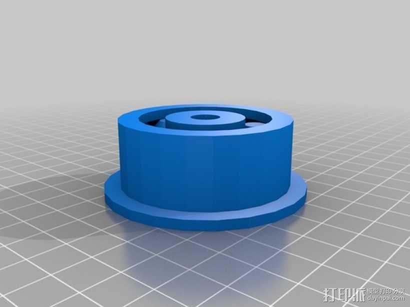 新型滚珠轴承  3D模型  图2