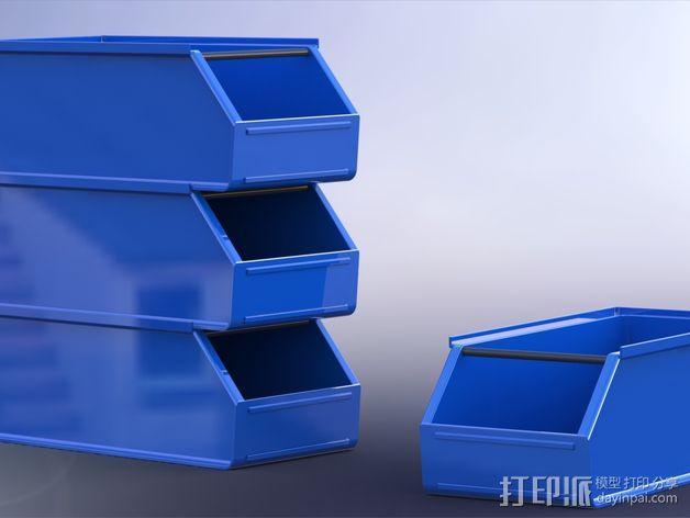 可堆叠小盒 3D模型  图1