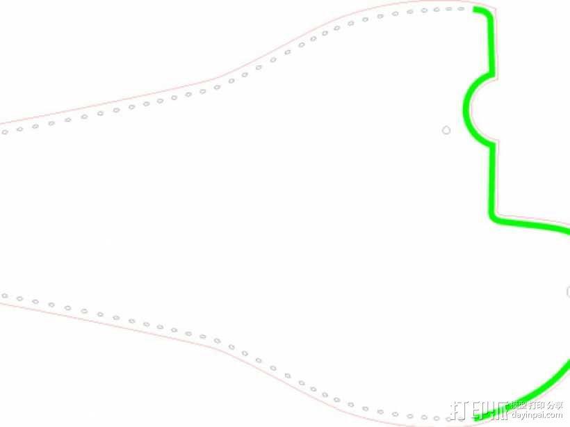 游标卡尺保护套 3D模型  图4