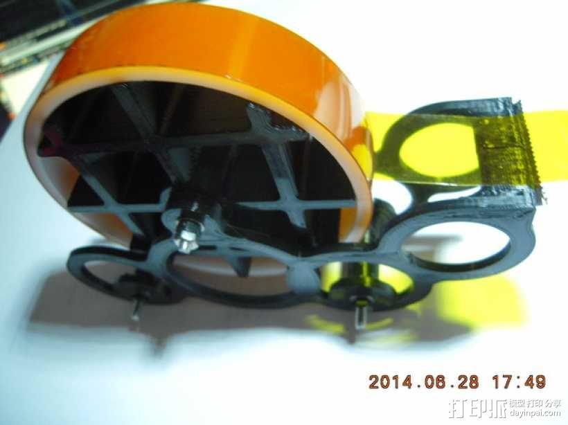 kapton胶带分割器 3D模型  图2