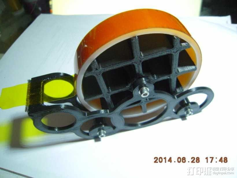 kapton胶带分割器 3D模型  图1