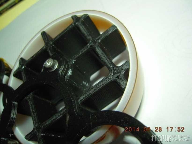 kapton胶带分割器 3D模型  图3