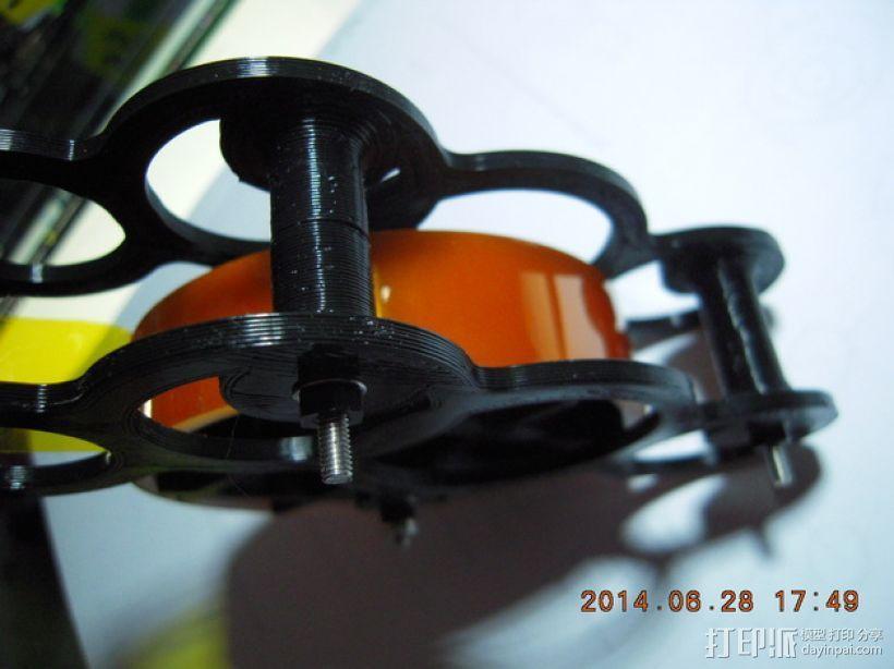 kapton胶带分割器 3D模型  图4
