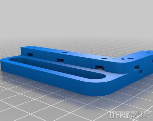 电路板夹具 3D模型  图1