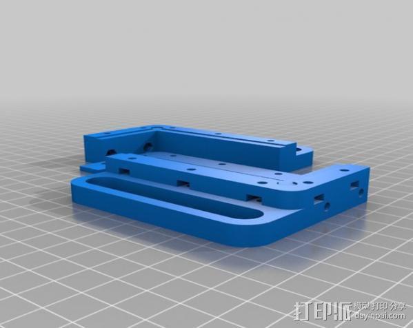 电路板夹具 3D模型  图2