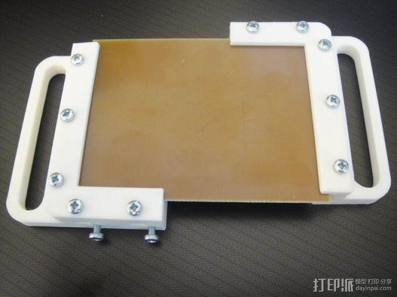 电路板夹具 3D模型  图5