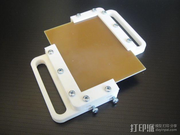 电路板夹具 3D模型  图6