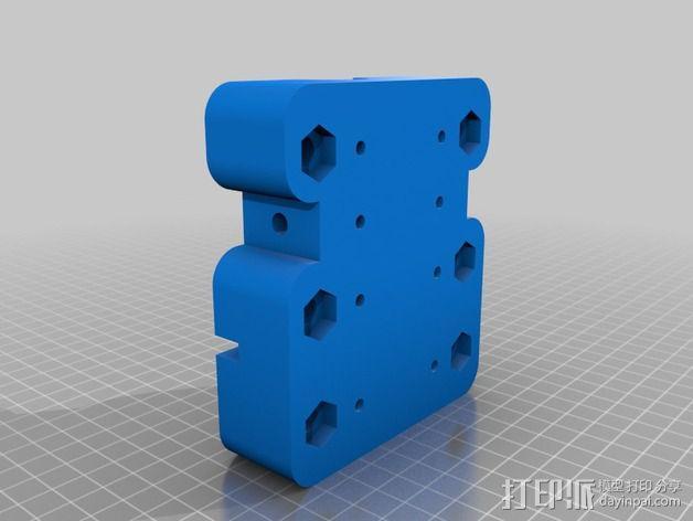 Dremel电动工具固定架 3D模型  图2