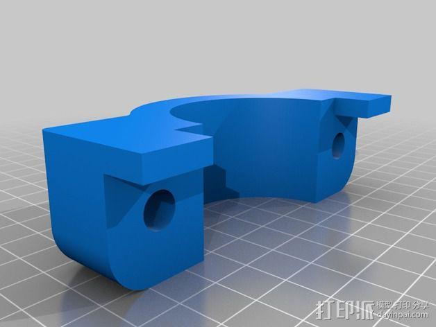 Dremel电动工具固定架 3D模型  图3