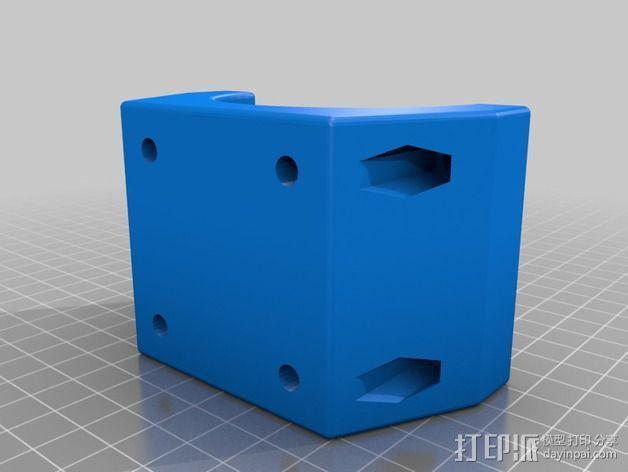 修边机固定夹 3D模型  图2