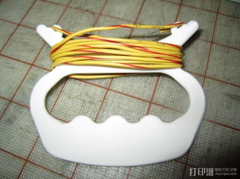 手持式卷线器 3D模型  图1