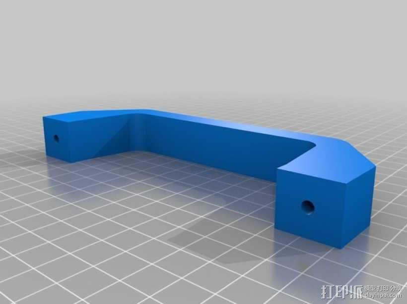 简易把手 3D模型  图4