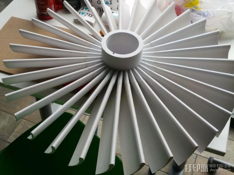 涡轮 3D模型  图1