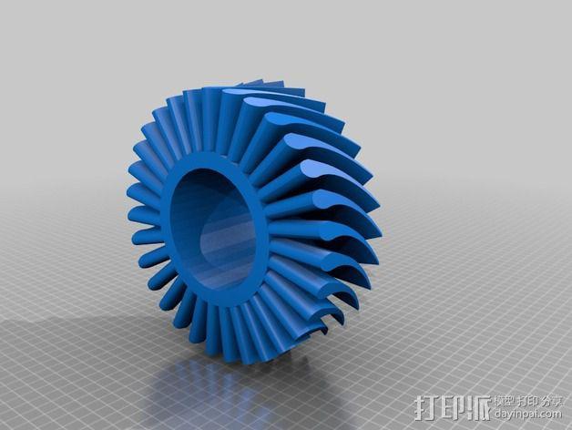 涡轮 3D模型  图4