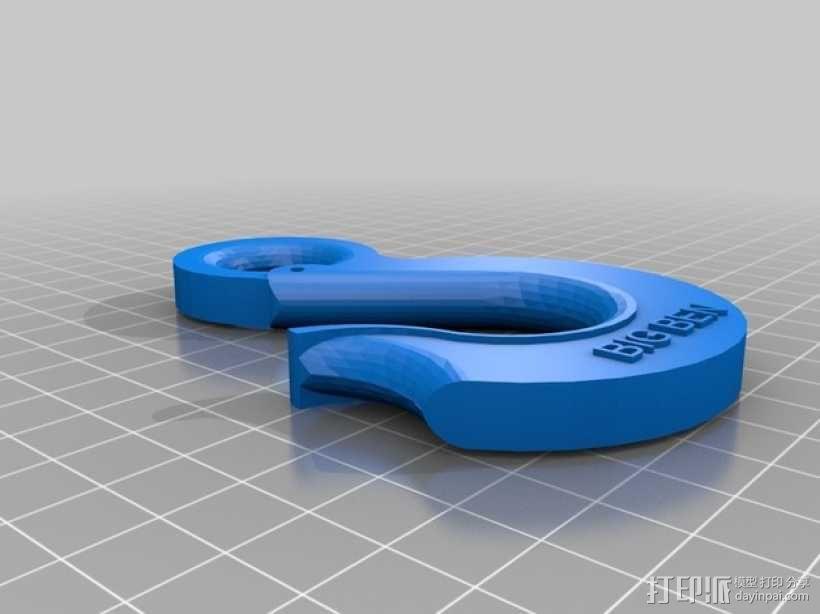 起重吊钩  3D模型  图2
