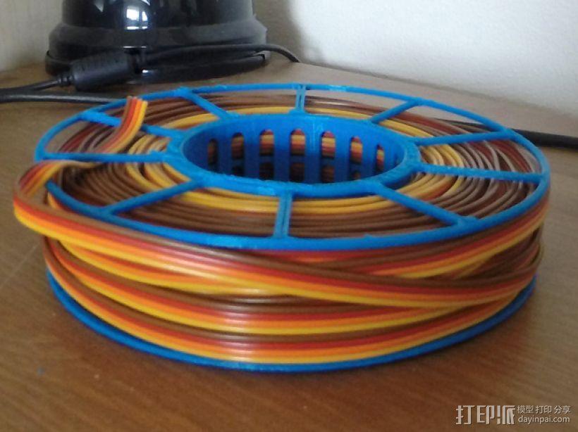 电缆绕线器 3D模型  图1