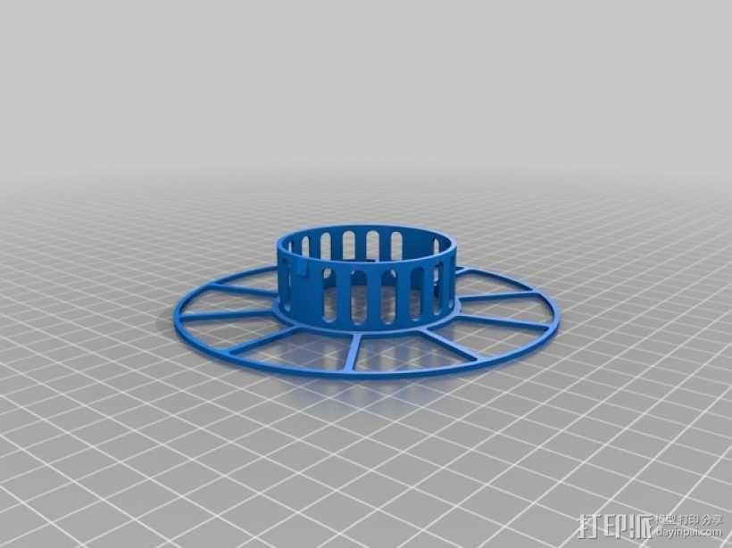 电缆绕线器 3D模型  图3