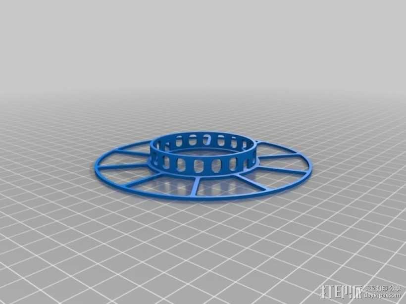 电缆绕线器 3D模型  图2