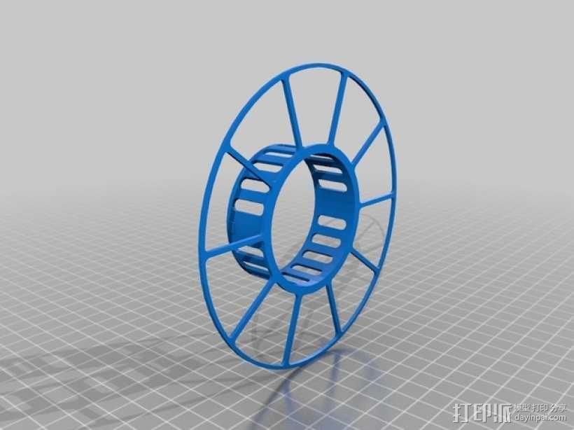 电缆绕线器 3D模型  图5