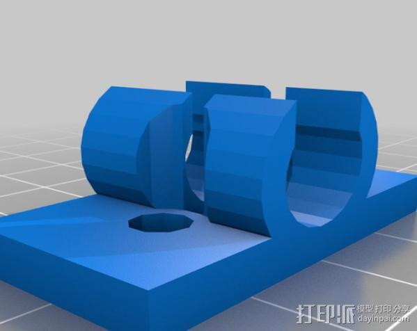 ShapeOko切割机配适器 3D模型  图4