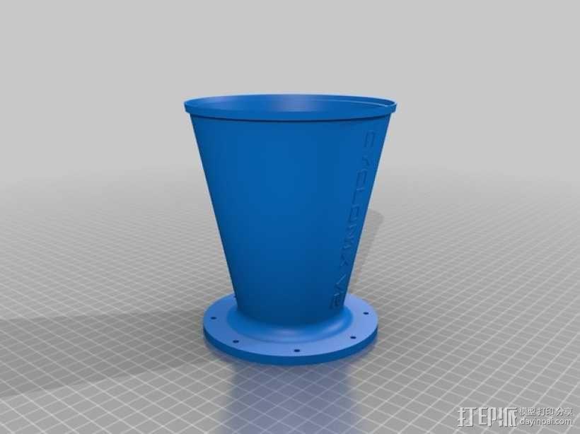 旋风颗粒除尘器  3D模型  图10