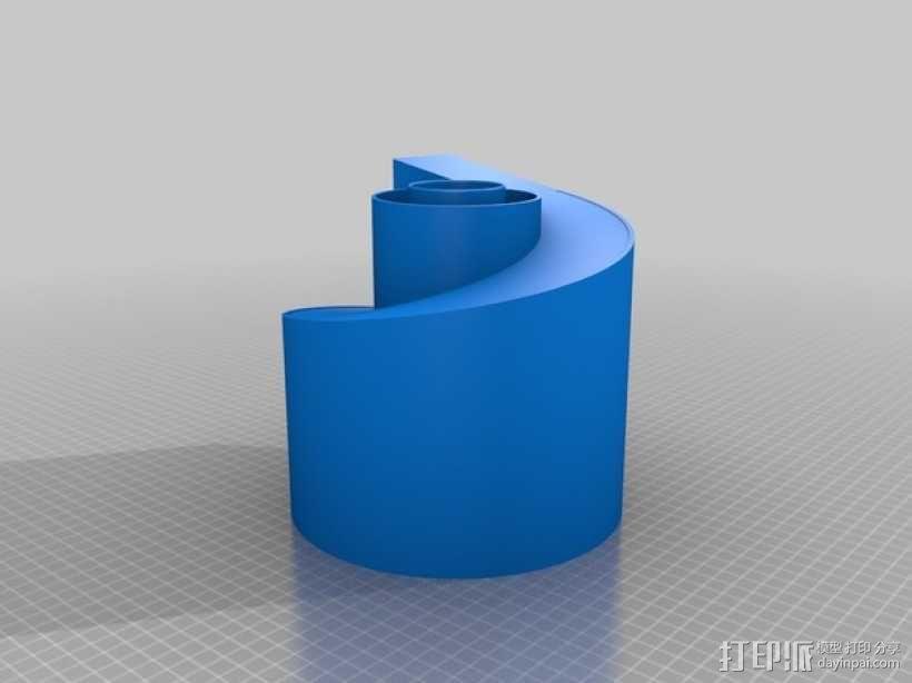 旋风颗粒除尘器  3D模型  图12