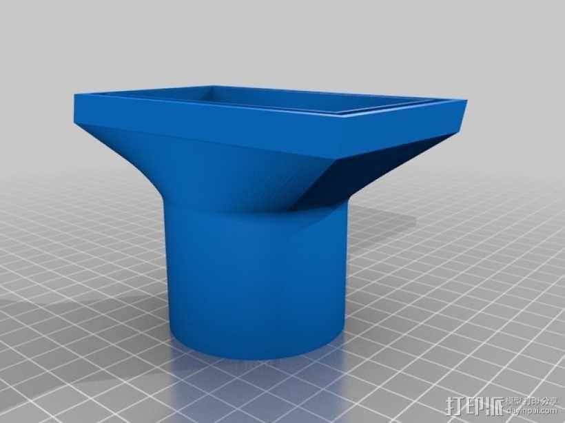 旋风颗粒除尘器  3D模型  图11